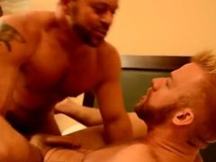 Gay kissing a cowboys bare hairy ass porn He should be working, but