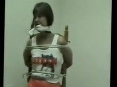 Houston Hooters Girl Sandy kidnapped bound and gagged 1