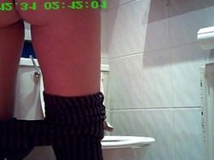 Hidden cam Toilet niceee