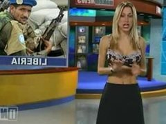 Naked News Michelle Pantoliano & Victoria Sinclair