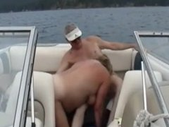 Sharing Wife on the Boat from SEXDATEMILF.COM
