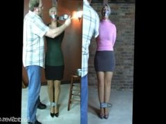Sandra Silvers & Crystal duct taped