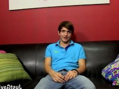Short brown hair cute gay sex video Gorgeous young Colby tells us about