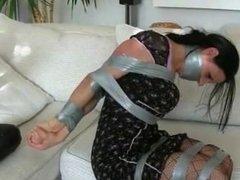 Tape tie femdom escape