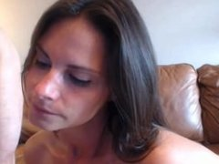 MILF's fucked by big dick, then swallows cum