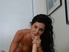 Fit MILF SUCKS And RIDES Her New Toy
