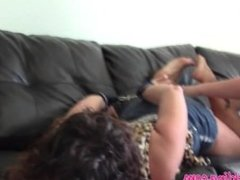Jenna's Hogtied Tickle Torture
