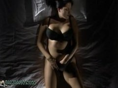 Masturbating Izobella Contained Hot and Horny