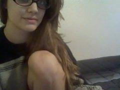 Nerdy amateur teen gets a bath - more webcams at camse.xyz