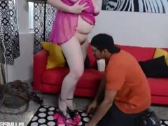 Big Tit Blonde BBW Suzumi Wilder Loves Latino Cock