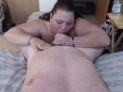 Horny BBW with her new sexual partner