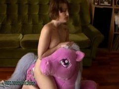 Bathory Saddle Up Real Wet Orgasm Finger Her Juicy Wet Pussy