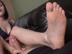 Foot Teased and Jerked Off