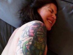 Hot tattooed Teen POV Anal Zarrah Angel
