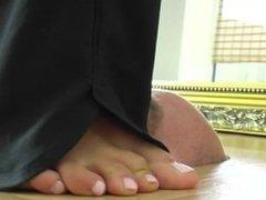 Toilet foot carpet1