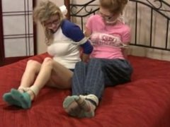 2 Girls Gagged