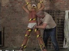 Gay porn wanking celebs Slave Boy Made To Squirt