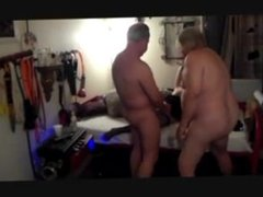 Making my cuckold watch and clean up