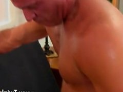 Throat by gay and boys porn This luxurious and muscular hunk has the