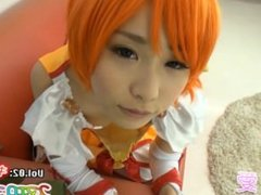 cosplay precure Smile Pretty Cure!  cure sunny Aisaka Megumi