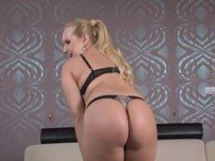 Big tits blonde love anal
