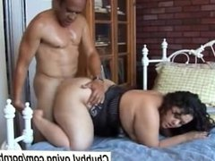 Lovely big booty latina BBW is a super hot fuck