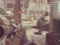 Call Of Duty Nerd Destroys People With Trickshots