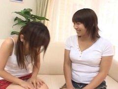 asian tounge kissing -japanese lesbian girls (dad047)