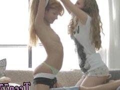Chubby teen boy having sex porn 2 women bang 1 dude very hot!