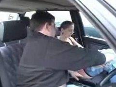 swinger german in car