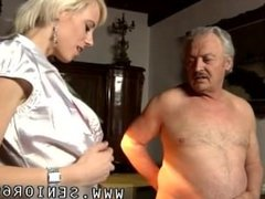 Very old grandpa suck young dick Bruce has been married for 35 years and