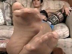 Tan Knee Socks