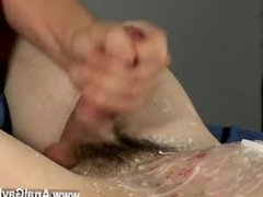 Young large dick gay sex movies Wanked And Waxed To The Limit