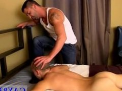 Young gay twinkling throat fuck It's a crazy session of ownership and