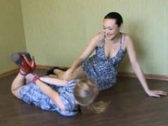 Ashanti hogtied and tickled by Jozefina