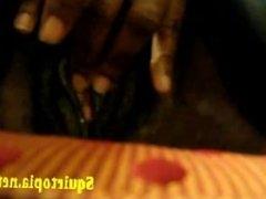 Ebony Close Up Fat Pussy Big Clit Rub