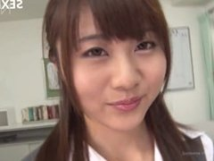 Teens Akira Shiratori saugt Phallus