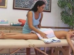 Rough Lesbian Massage