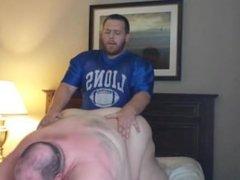 White Big Ass Superchub Bear Fucked by His Chubby Football Bear Boyfriend,