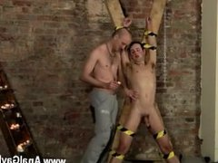 Deep gay anal masturbation Spitting Cum In A Slaves Face