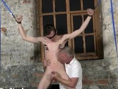 Gay porn hairy pubes big cock fucks twink With his fragile testicles