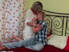 NastyPlace.org - Hot blonde mom is fucking her younger neighbor