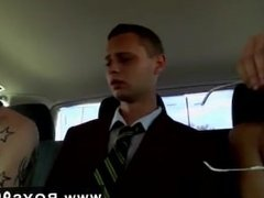 Deep throat sex gay porn gallery Spitroasted by both in the back seat, he