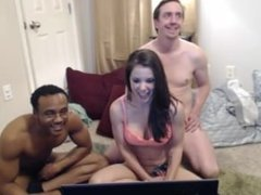 interracial group action- all amateurs