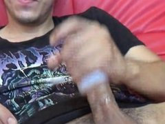 Punk Teen Fucks Tenga Egg and Purple Dildo Part 1