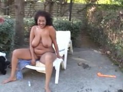 Horny fat Asian mama from SEXDATEMILF.COM wrecked by white dude on a lounge