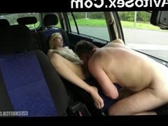 Taxi driver is going to fuck that nasty bitch