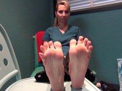 45 Year old Milf Feet Size 10!