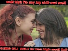 Girls kissing and doing it