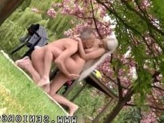 Old and young girls making love She is a real blonde sweetheart but he is